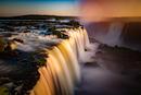 Farbspiele an den Foz de Iguazu