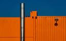 Fassade in orange