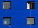 blue one open