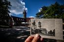 Burg Teck - 1904 und heute