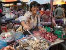 Markt  in Laos