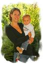 Luca mit Mama