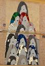 Fassadenkunst in Igesias auf Sardinien