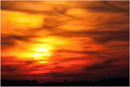 Burning Sky over Chiemsee