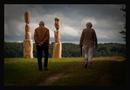 Kunst - Dialog der Holzkoepfe