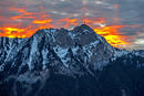 Blick Richtung Mont. Blanc