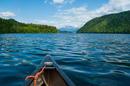 Im Kanu durch die Wildnis