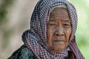 Alte Frau aus  Laos
