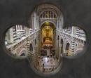Durchblick im Dom von Siena