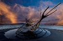 Wikingerschiff  Reykjavik