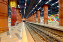 Metrostation in Lissabon-