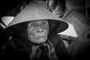 Vietnamesische Dame mit Hut