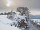 Wintereinbruch auf dem Breitenstein