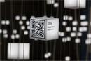 Schwebende QR Codes