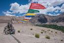Gebetsfahnen bei Kutsa-Ladakh