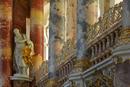 Prunk-Barock der Wieskirche OB