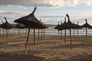 Ballermann-Strand im März