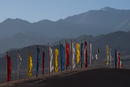 Leh-Ladakh  Gebetsfahnen