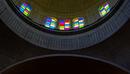 Fenster in der Kirchenkuppel