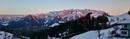Der zahme Kaiser im Alpenglühen