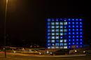 Der blaue Würfel
