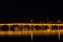Provence Brücke bei Nacht-