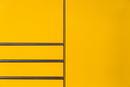 waagerecht & senkrecht in gelb