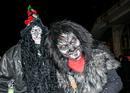 Fasching in  Berkheim Hexe und Werwolf