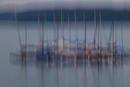 Segelboote am Möhnesee