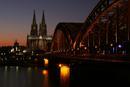 Koeln by night