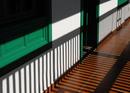 Schattenspiel auf dem Balkon