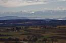 Blick Bodensee Alpen