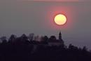 Teck Sonnenuntergang