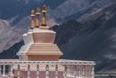 Stupas im Nubra Tal-Ladakh