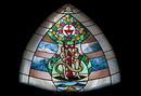 Magisches Dreieck-Fenster Stiftskirche Herrenberg